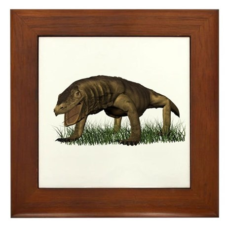 Kimodo Dragon Framed Tile