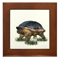 Snapping Turtle Framed Tile