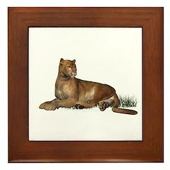 Puma Framed Tile