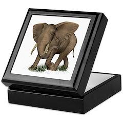 Elephant Keepsake Box