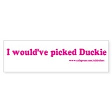 Pretty in Pink Bumper Bumper Sticker