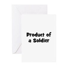 Product of a Soldier Greeting Cards (Pk of 10)