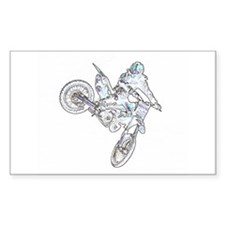 """Flyin High Ghost"" Rectangle Decal"