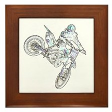 """Flyin High Ghost"" Framed Tile"