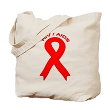 AIDS/HIV Tote Bag