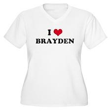 I HEART BRAYDEN  T-Shirt
