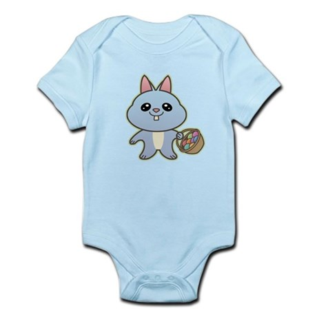 Blue Easter Bunny Infant Creeper