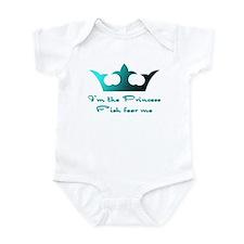 Fishing Princess2 Infant Bodysuit