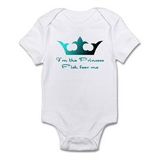 Fishing Princess2 Onesie