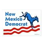 New Mexico Democrat Postcards