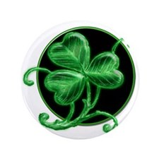 """Snazzy Shamrock! 3.5"""" Button (100 pack)"""
