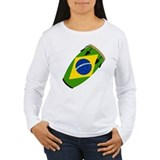 Conga Brazil Flag music T-Shirt