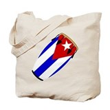 Conga Cuba Flag music Tote Bag