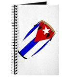 Conga Cuba Flag music Journal