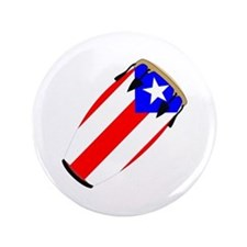 "Conga Puerto Rico Flag 3.5"" Button (100 pack)"