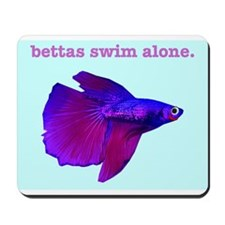 Betta Fish Mousepad