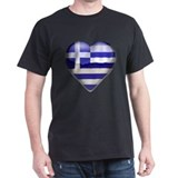 Greece Heart T-Shirt