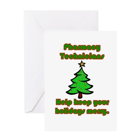 Pharmacy Technicians help kee Greeting Card