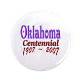 "Oklahoma 100 3.5"" Button (100 pack)"