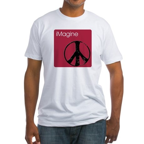 iMagine pink Men's Fitted T-Shirt