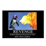Revenge Postcards (Package of 8)