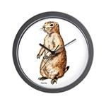 Prairie Dog Wall Clock