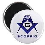 Masonic Scorpio Magnet
