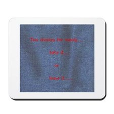 Blessing box cottage Mousepad