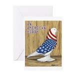 Patriotic West Greeting Card