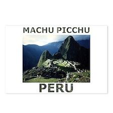 MACHU PICCHU, PERU Postcards (Package of 8)