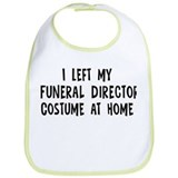 Left my Funeral Director Bib