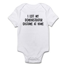 Left my Demonstrator Infant Bodysuit