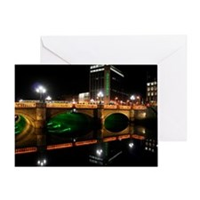 Greeting Card O'CONNELL BRIDGE, DUBLIN