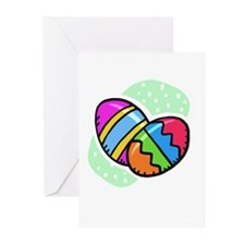 Two Easter Eggs Greeting Cards (Pk of 10)
