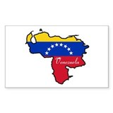 Cool Venezuela Rectangle Decal