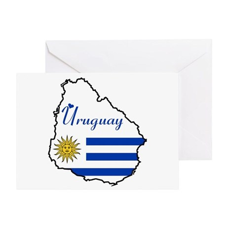 Cool Uruguay Greeting Card