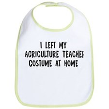 Left my Agriculture Teacher Bib