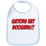 Gators Eat Boogers Bib
