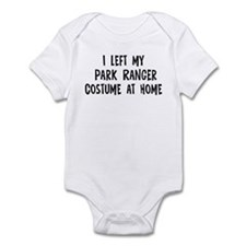 Left my Park Ranger Infant Bodysuit