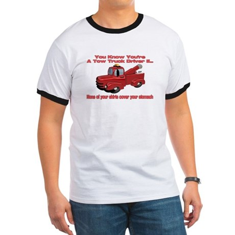 Tow Truck Tshirts and Gifts Ringer T