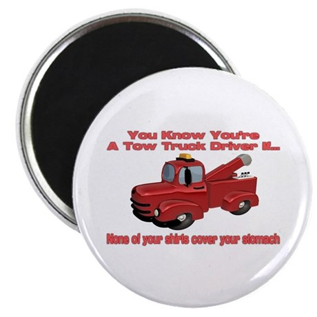 Tow Truck Tshirts and Gifts Magnet