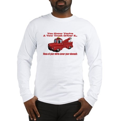 Tow Truck Tshirts and Gifts Long Sleeve T-Shirt