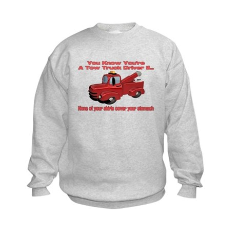 Tow Truck Tshirts and Gifts Kids Sweatshirt