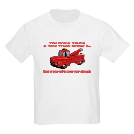 Tow Truck Tshirts and Gifts Kids Light T-Shirt