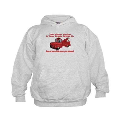 Tow Truck Tshirts and Gifts Kids Hoodie