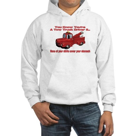 Tow Truck Tshirts and Gifts Hooded Sweatshirt
