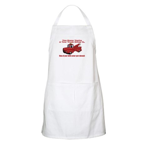 Tow Truck Tshirts and Gifts BBQ Apron