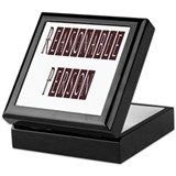 Reasonable Person Keepsake Box