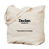 Declan Version 1.0 Tote Bag
