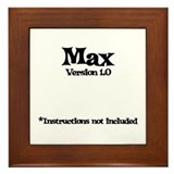 Max Version 1.0 Framed Tile